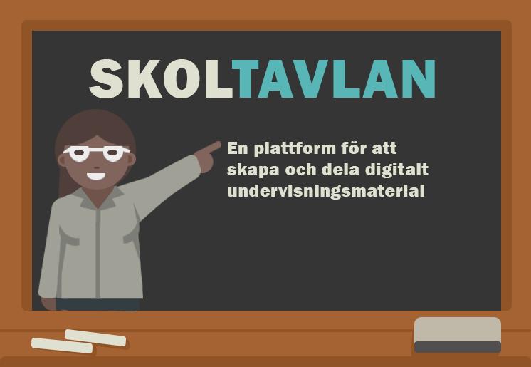 En plattform för att skapa och dela digitalt undervisningsmaterial